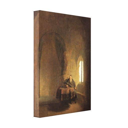 Rembrandt Harmenszoon van Rijn - St Anastasius Impresiones En Lienzo Estiradas