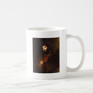 Rembrandt Jesus with Arms Folded Coffee Mug