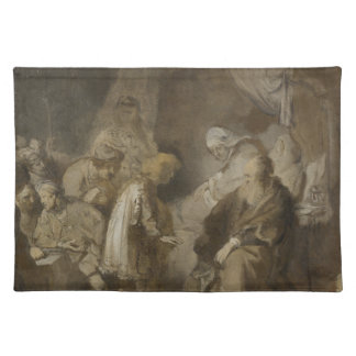 Rembrandt, Joseph telling his dreams Cloth Placemat