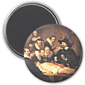 Rembrandt: La lección de la anatomía del Dr. Nicol Imán De Frigorífico