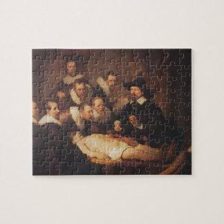 Rembrandt la lección de la anatomía del Dr. Nicola Rompecabeza