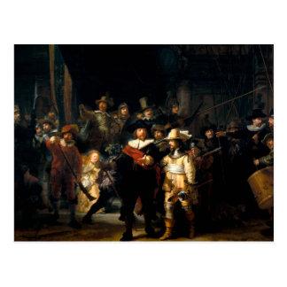 Rembrandt la postal del guardia nocturna