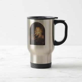 Rembrandt: La resurrección de Cristo Taza De Viaje De Acero Inoxidable