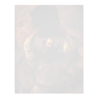 Rembrandt Moses que rompe las tabletas de la ley Membretes Personalizados