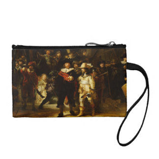 Rembrandt Nightwatch Night Watch Baroque Painting Coin Wallet