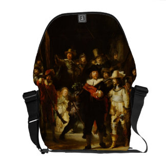 Rembrandt Nightwatch Night Watch Baroque Painting Courier Bag