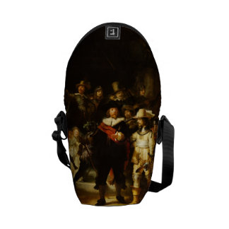 Rembrandt Nightwatch Night Watch Baroque Painting Courier Bags