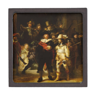 Rembrandt Nightwatch Night Watch Baroque Painting Gift Box