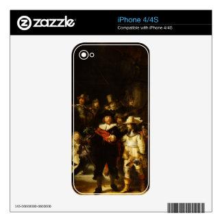 Rembrandt Nightwatch Night Watch Baroque Painting iPhone 4 Skin