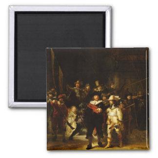 Rembrandt Nightwatch Night Watch Baroque Painting Magnet