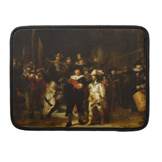 Rembrandt Nightwatch Night Watch Baroque Painting Sleeve For MacBook Pro