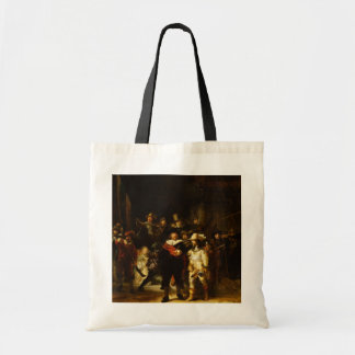 Rembrandt Nightwatch Night Watch Baroque Painting Tote Bag