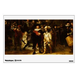 Rembrandt Nightwatch Night Watch Baroque Painting Wall Sticker