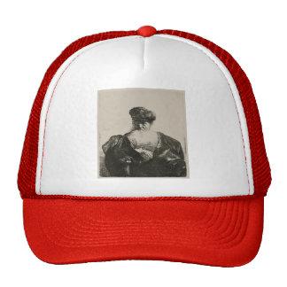 Rembrandt Old Man with Beard Fur Cap Velvet Cloak Hat