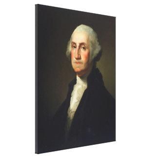 Rembrandt Peale - George Washington Canvas Print