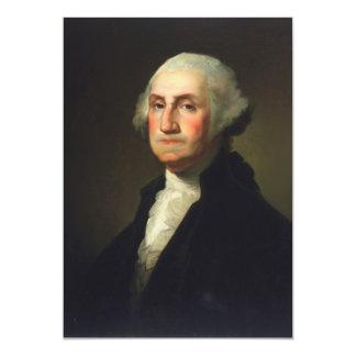 Rembrandt Peale - George Washington Card