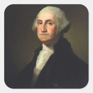 Rembrandt Peale - George Washington Square Sticker