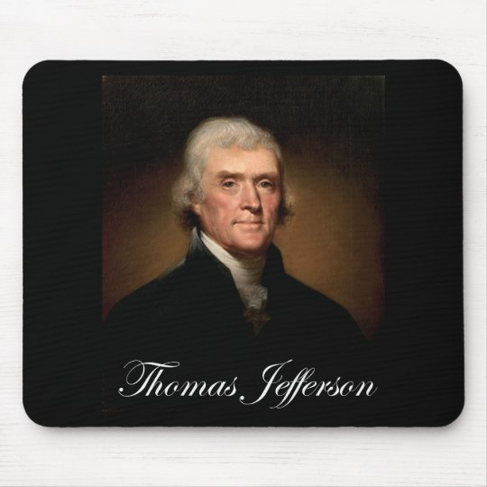 Rembrandt_Peale-Thomas_Jefferson 1 Mouse Pad