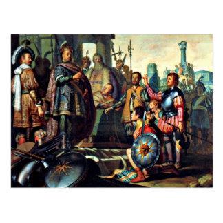 Rembrandt: Pintura de la historia, ilustraciones Postal