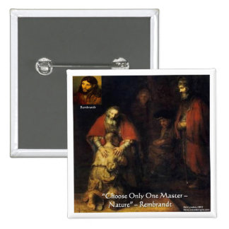 Rembrandt Prodigal Son Elegant Gifts & Cards Pinback Button