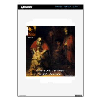Rembrandt Prodigal Son Elegant Gifts & Cards iPad 3 Decals