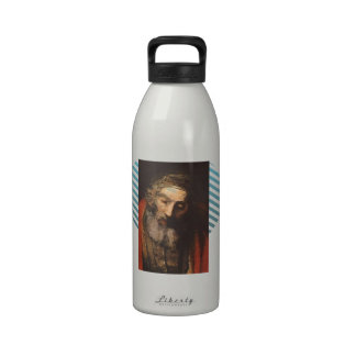 Rembrandt- Return of the Prodigal Son(fragment) Reusable Water Bottles
