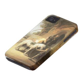 Rembrandt: Samaritano caritativo Case-Mate iPhone 4 Protectores