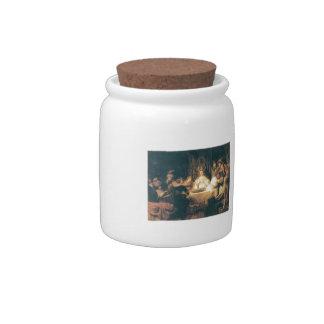 Rembrandt: Samson at the Wedding Candy Jar
