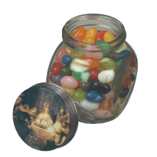 Rembrandt: Samson at the Wedding Jelly Belly Candy Jars
