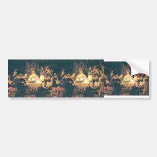 Rembrandt: Samson en el boda Pegatina Para Auto