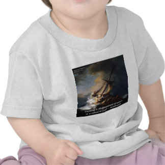 Rembrandt Sea Of Galilee & Nature Quote Tshirts