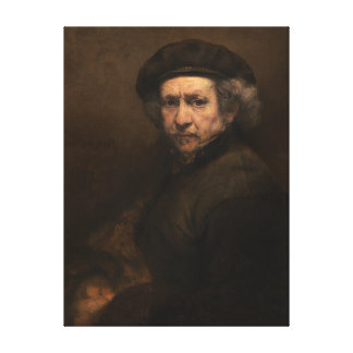 """Rembrandt Self-Portrait 15x20"""" poster Canvas Print"""