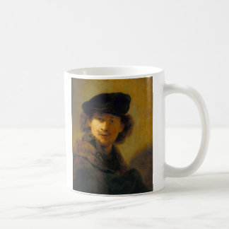 Rembrandt Self Portrait 2 Coffee Mugs
