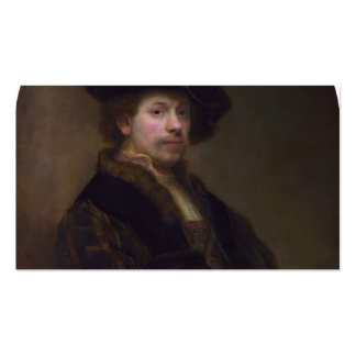 Rembrandt: Self-portrait at the Age of 34 Business Card