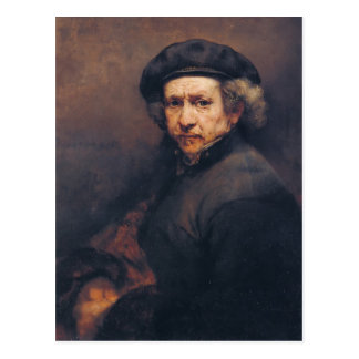 Rembrandt: Self-portrait Postcard