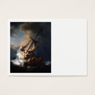 Rembrandt Storm on  Galilee Business Card