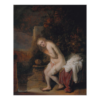 Rembrandt, Susanna Poster