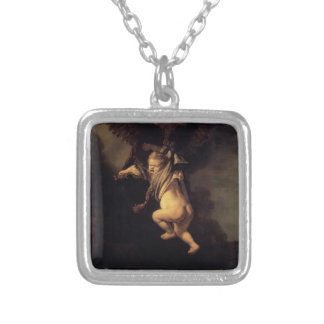 Rembrandt- The Abduction of Ganymede Personalized Necklace
