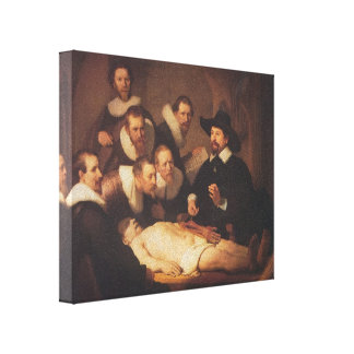 Rembrandt- The Anatomy Lesson of Dr. Nicolaes Tulp Canvas Print