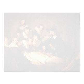 Rembrandt- The Anatomy Lesson of Dr. Nicolaes Tulp Letterhead