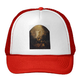 Rembrandt The Ascension Of Christ Mesh Hats
