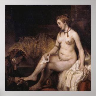 Rembrandt - the Letter Poster