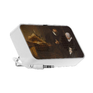 Rembrandt: The Mennonite Minister Cornelis Claesz iPod Speakers