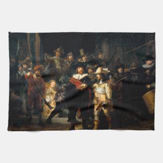 Rembrandt The Night Watch Kitchen Towel