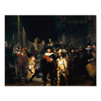 Rembrandt The Night Watch Print Photo