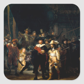 Rembrandt The Night Watch Stickers