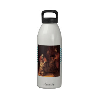 Rembrandt: The Return of the Prodigal Son Reusable Water Bottles