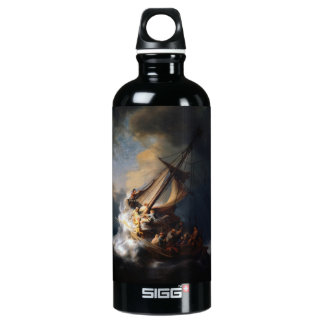 Rembrandt The Storm on the Sea of Galilee SIGG Traveler 0.6L Water Bottle