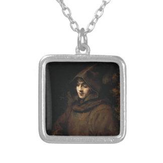 Rembrandt: Titus van Rijn in a Monk`s Habit Custom Necklace
