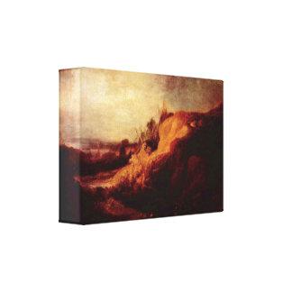 Rembrandt Van Rijn - bautismo del chambelán Impresion De Lienzo